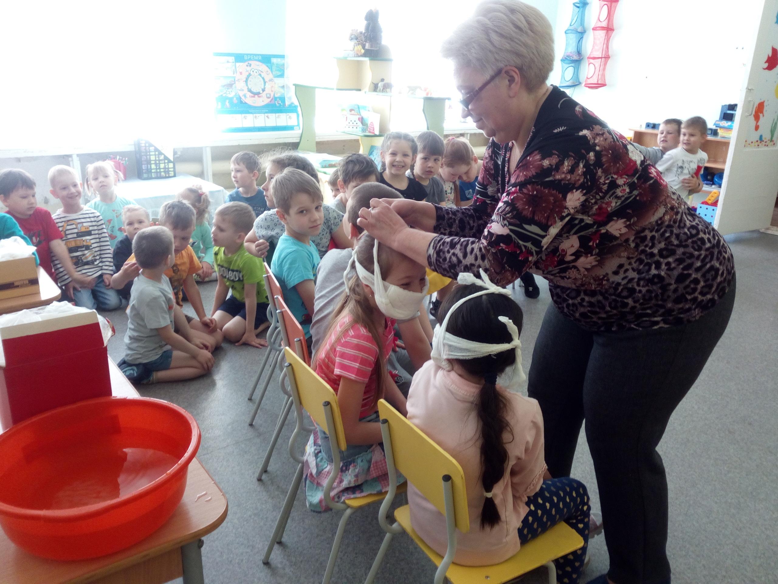 Тренировки в детских садах МАДОУ «Радость»